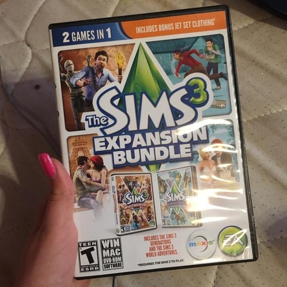 Sims 3 expansion bundle unopened Boutique